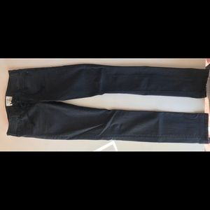 Front Lace Skinny Jeans